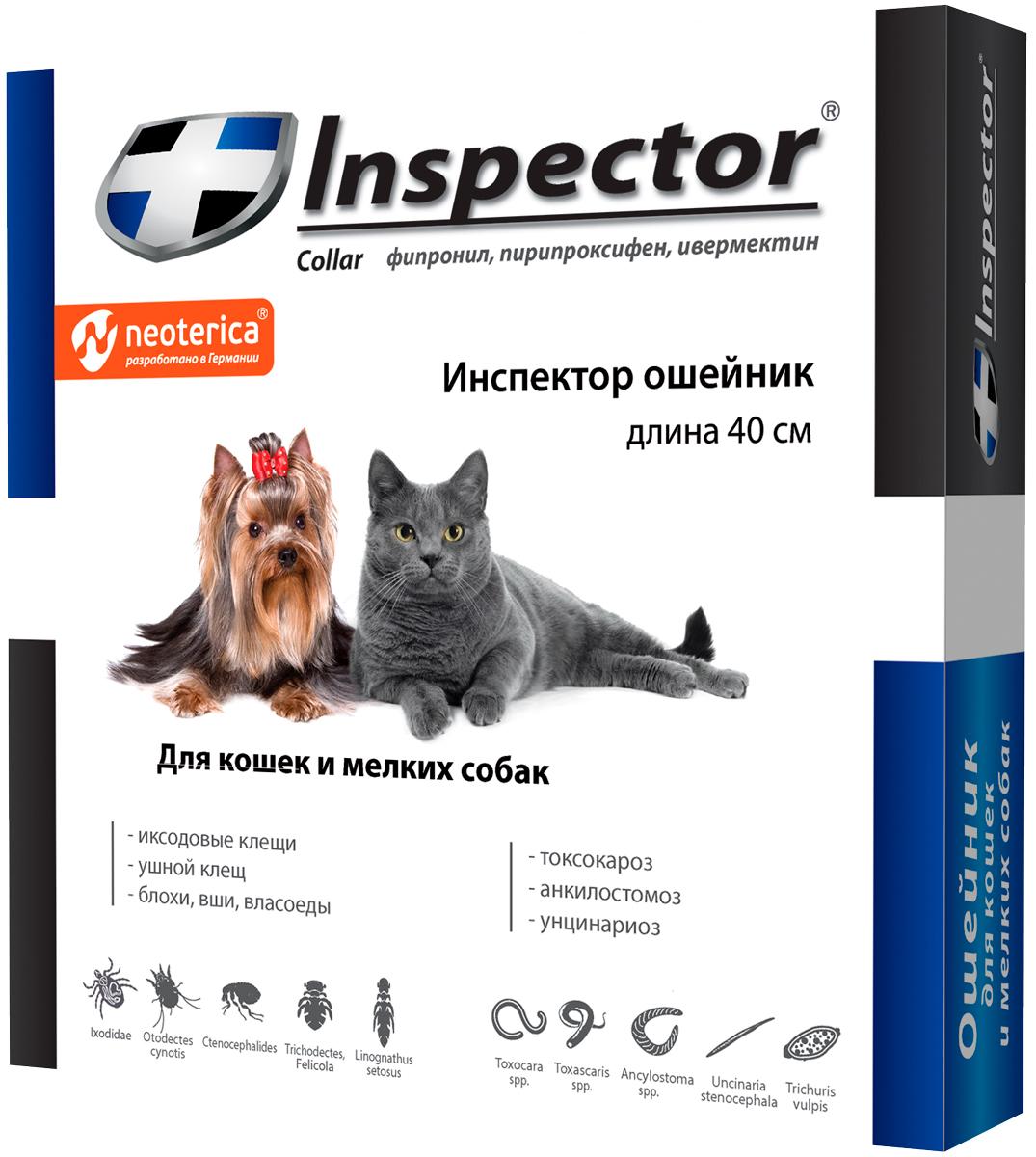 Inspector ошейник для собак маленьких пород