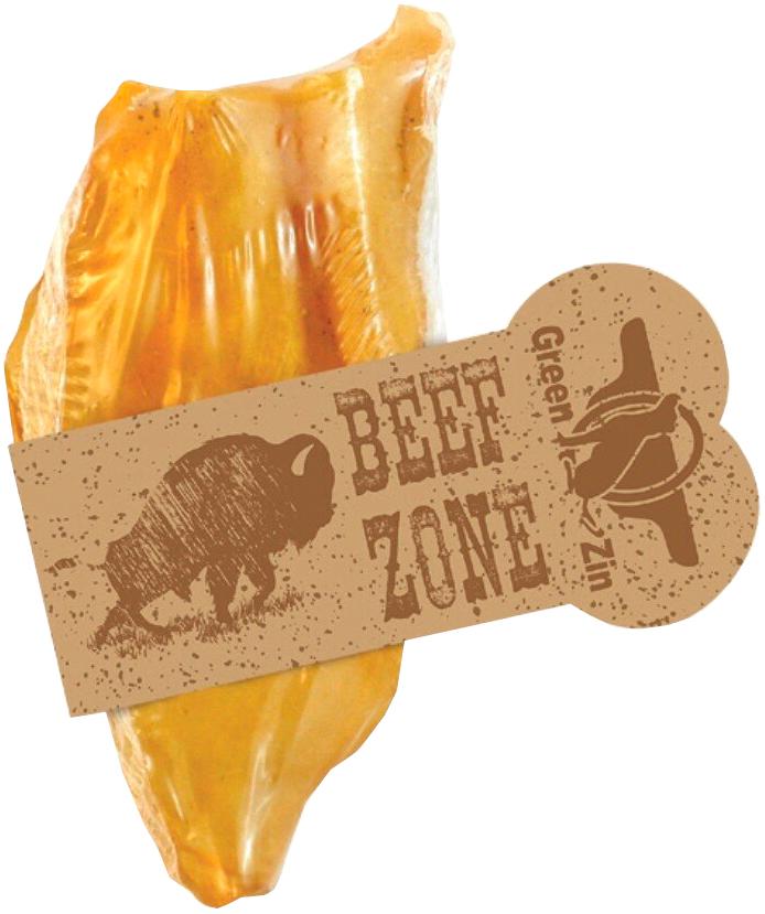 Лакомство Green Qzin Beef Zone для собак всех пород ухо баранье большое (1 шт)