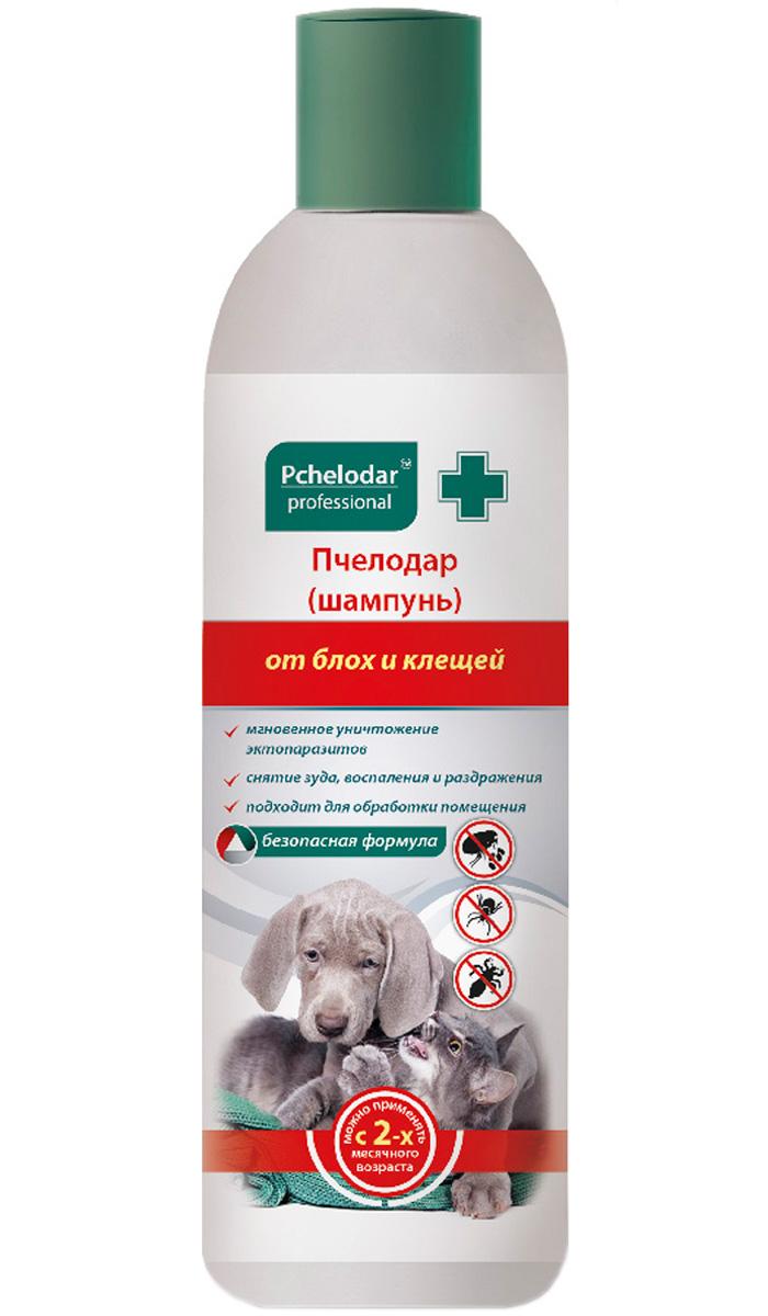 пчелодар шампунь инсектицидный для собак и кошек против блох и клещей 250 мл (1 шт)