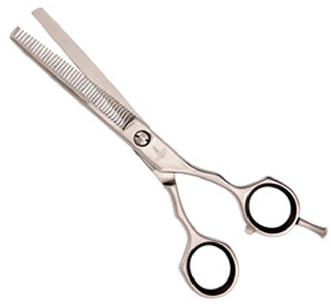 Mertz ножницы для груминга филировочные, 6 дюймов, 40 зубцов, Blue Line (1 шт)