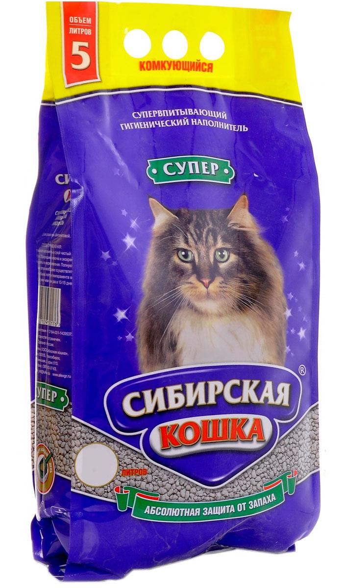 Фото - сибирская кошка супер наполнитель комкующийся для туалета кошек крупные гранулы (10 + 10 л) комкующийся наполнитель