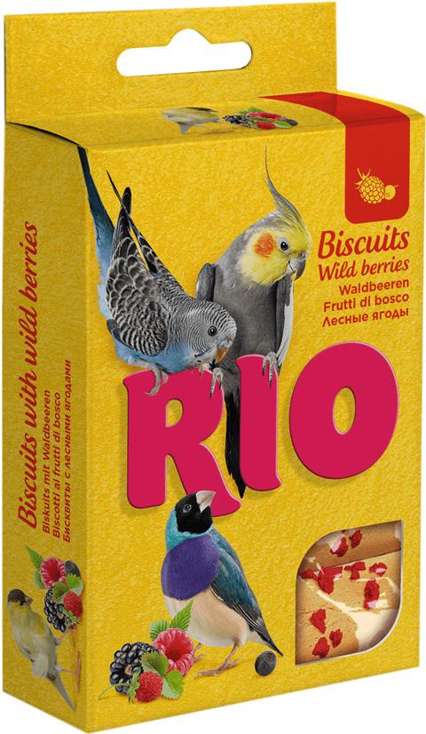 цена на Rio бисквиты для птиц с лесными ягодами (35 гр)