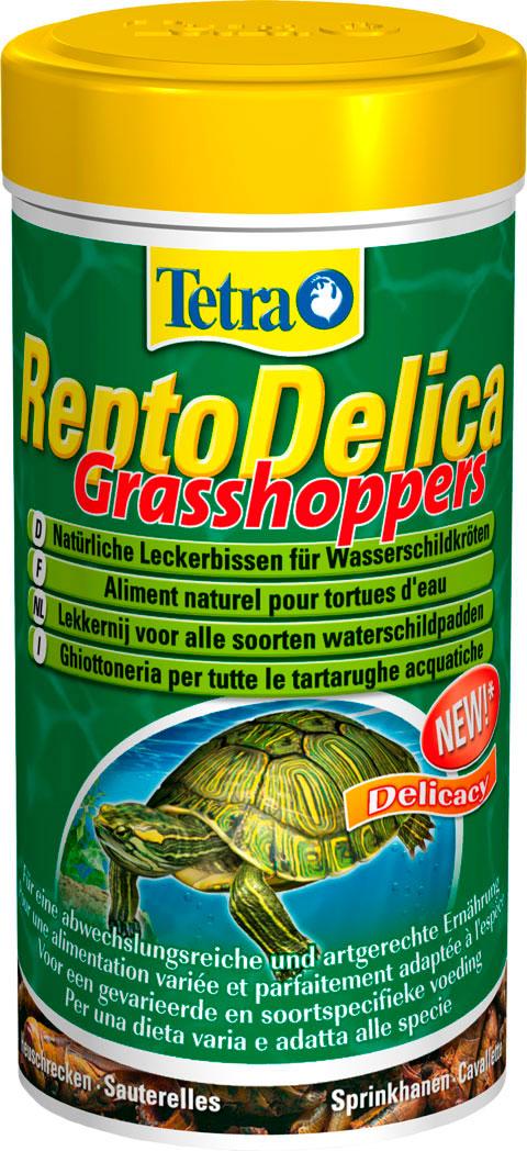 Tetra Fauna Reptodelica Grasshoppers – Тетра корм