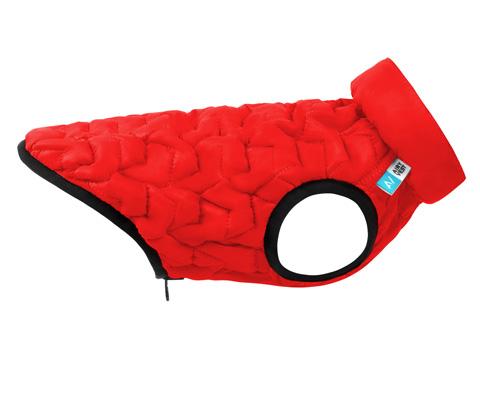 Куртка для собак Collar AiryVest Uni двусторонняя красно-черная (xs28)