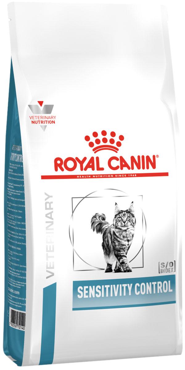 Royal Canin Sensitivity Control Sc27 для взрослых кошек при пищевой непереносимости (0,4 кг)