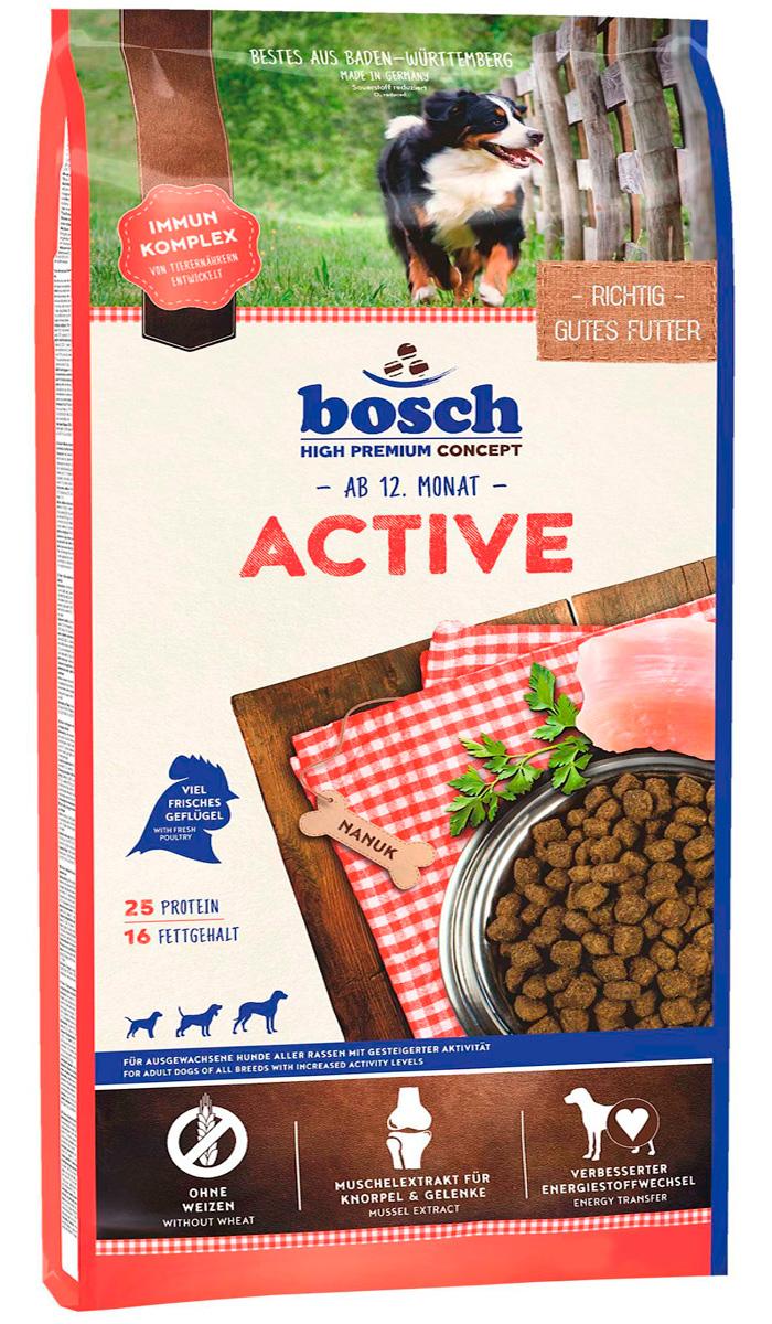 Bosch Active для активных взрослых собак всех пород (3 кг)