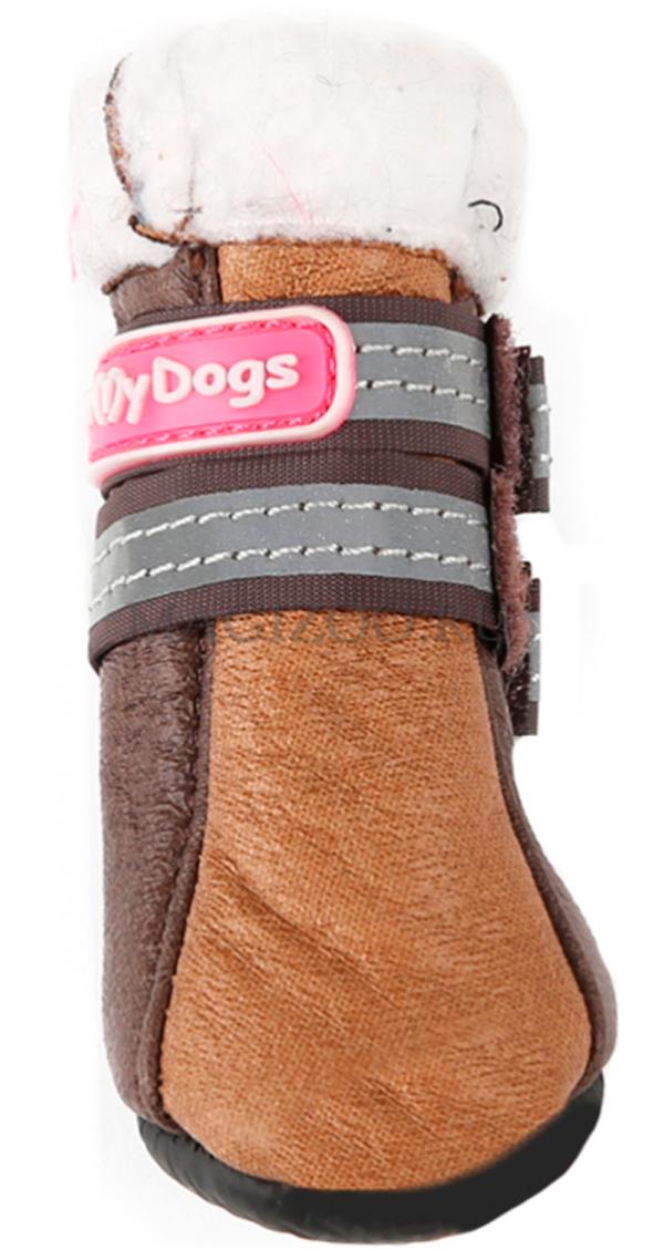For My Dogs сапоги для собак зимние коричневые Fmd628-2018 Br (4)