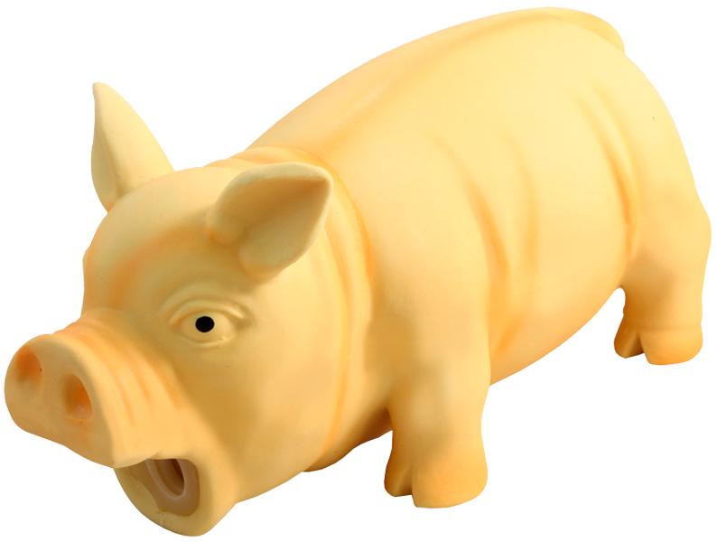 Triol игрушка для собак Поросенок хрюкающий 21 х 8,5 х 9,5 см (1 шт)