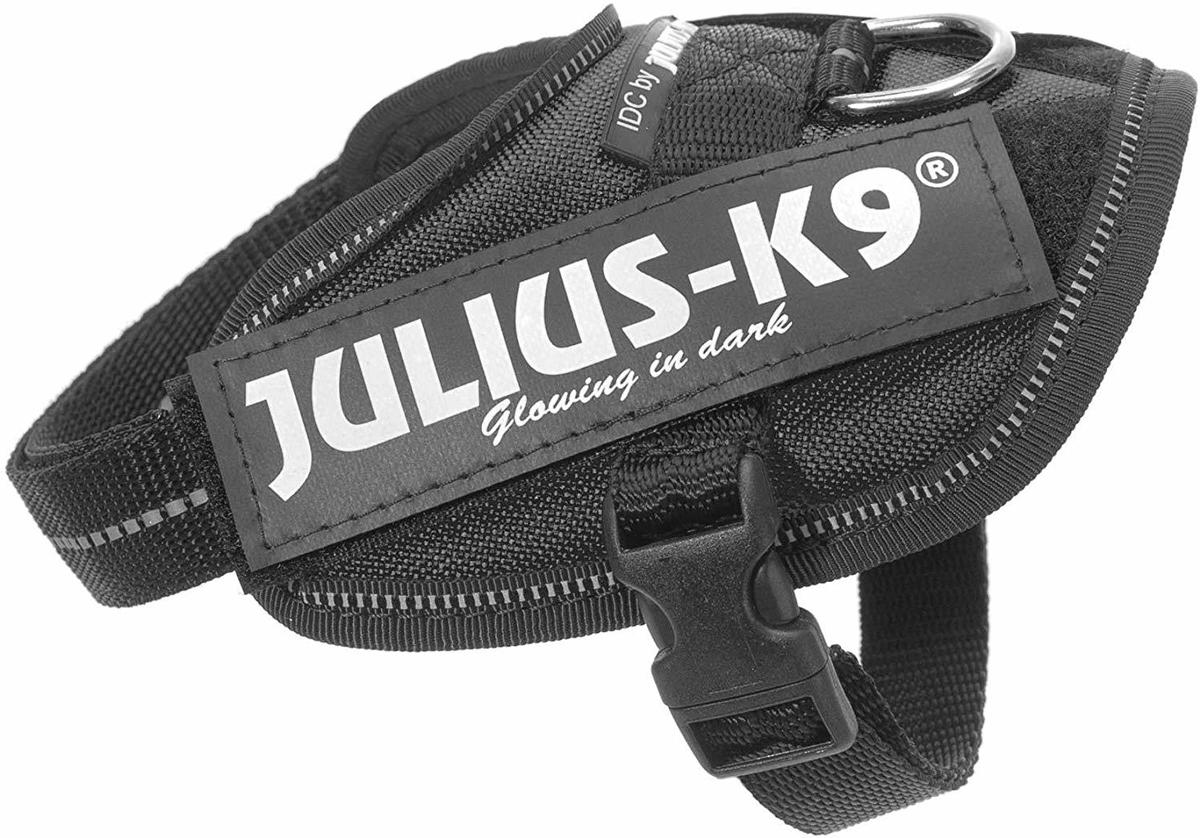 Шлейка для собак Julius-K9 Idc Powerharness 1 черный 23 - 30 кг 63 – 85 см (1 шт) фото