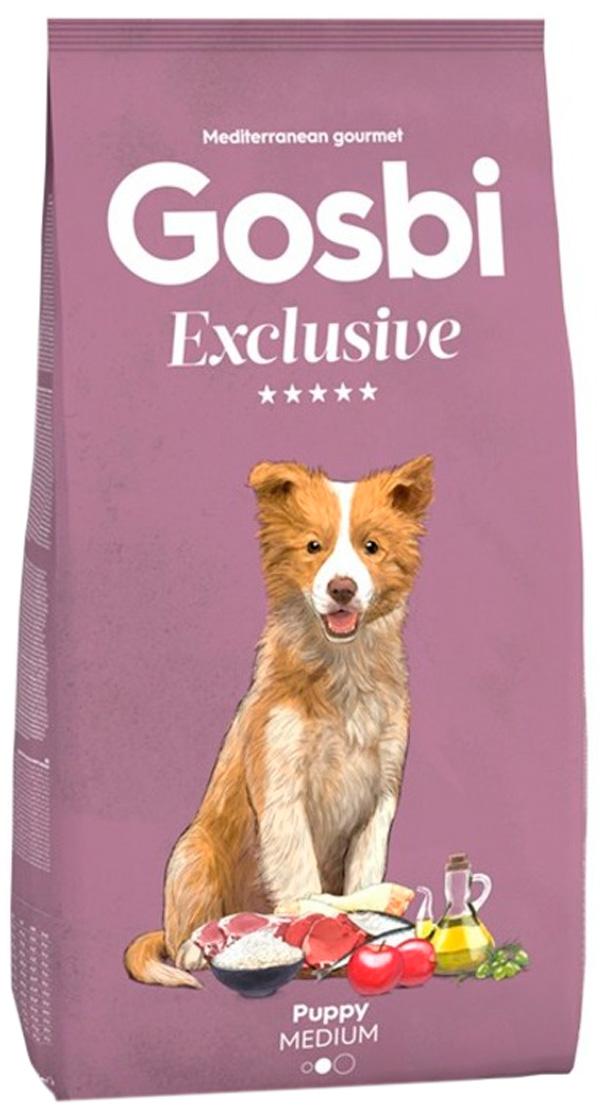 Gosbi Exclusive Puppy Medium для щенков средних пород с курицей (12 кг)