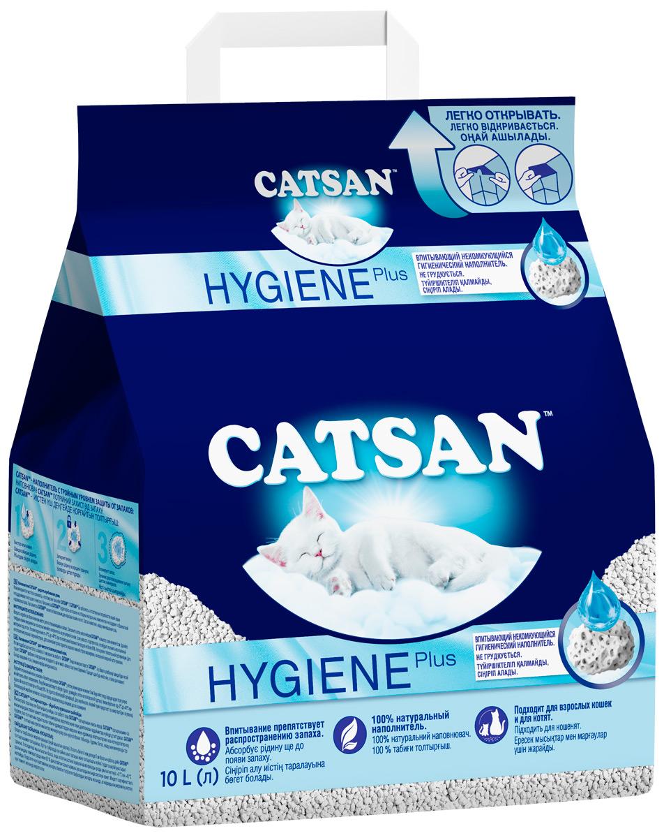 Catsan – Катсан наполнитель впитывающий для туалета кошек (5 л).