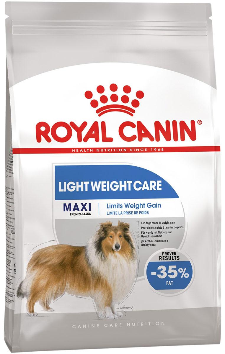 Royal Canin Maxi Light Weight Care диетический для взрослых собак крупных пород (10 кг)