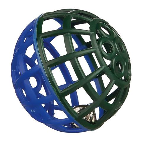 Игрушка для птиц Trixie Пластиковый шарик