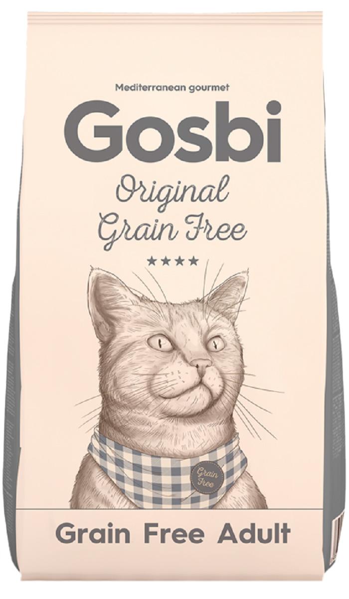 Gosbi Original Grain Free Cat Adult беззерновой для взрослых кошек с курицей (12 кг)