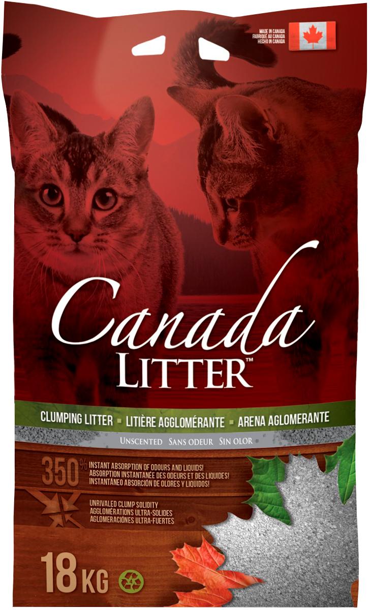 Фото - Canada Litter наполнитель комкующийся для туалета кошек Запах на замке (6 кг) наполнитель intersand extreme classic hygienic litter впитывающий без ароматизатира для кошек 6 87кг л14212