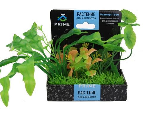 Композиция из пластиковых растений 15 см Prime Pr-m618 (1 шт) 0 pr на 100