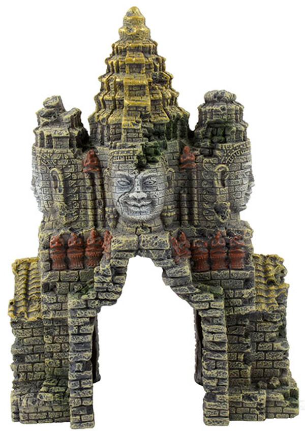 Картинка - Декорация для аквариума Prime Затерянный храм большой 18 х 15 х 27 см (1 шт)