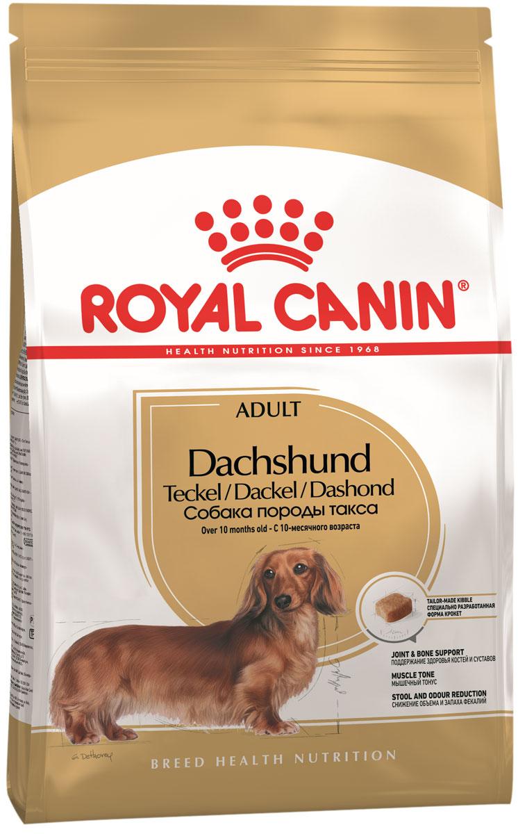 Royal Canin Dachshund Adult для взрослых собак такса (1,5 кг) фото
