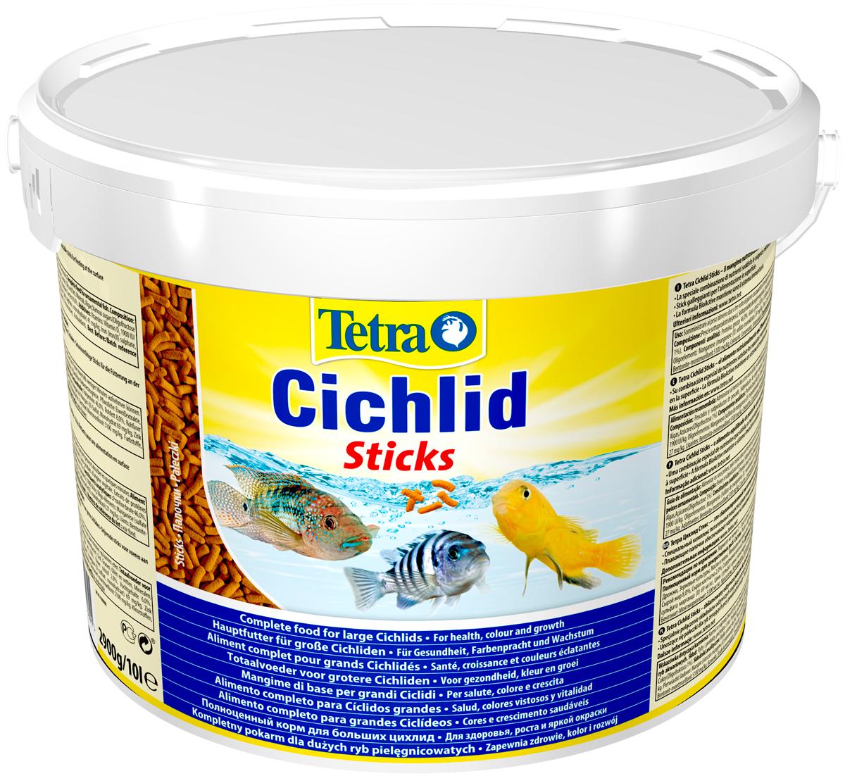 Tetra Cichlid Sticks — Тетра корм палочки
