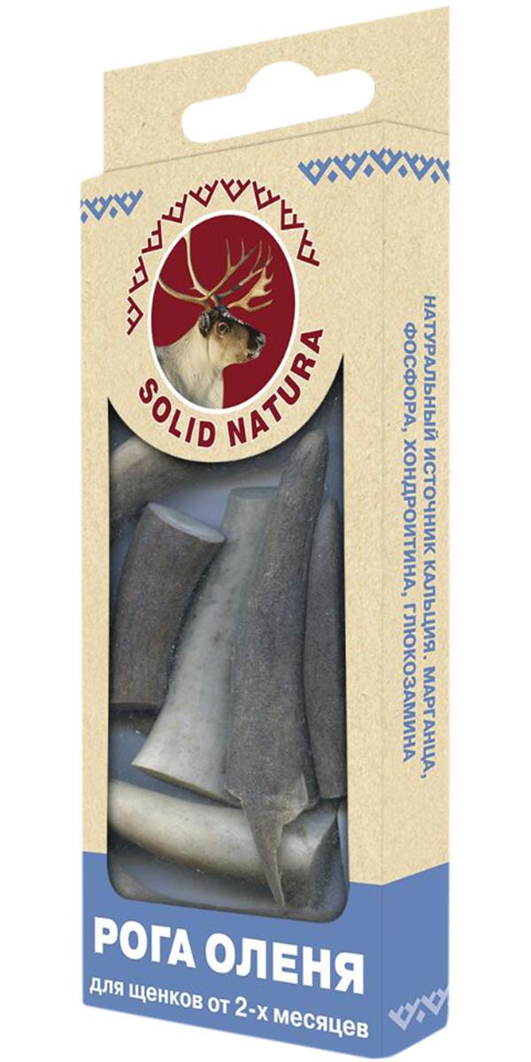 Лакомство Solid Natura для щенков рога оленя (40 гр)