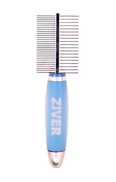 Расческа с гелевой ручкой двухсторонняя Ziver (1 шт)