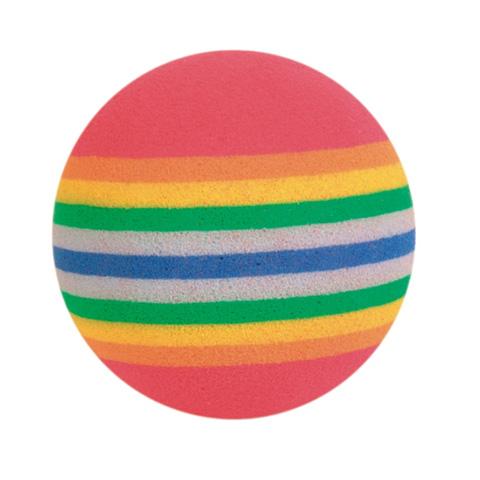 Trixie игрушка для кошек «Радужные мячи», (уп.