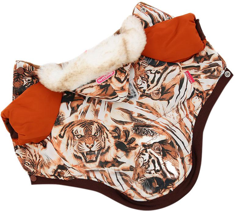 For My Dogs куртка для собак Тигры коричневая Fw598-2018 (16)