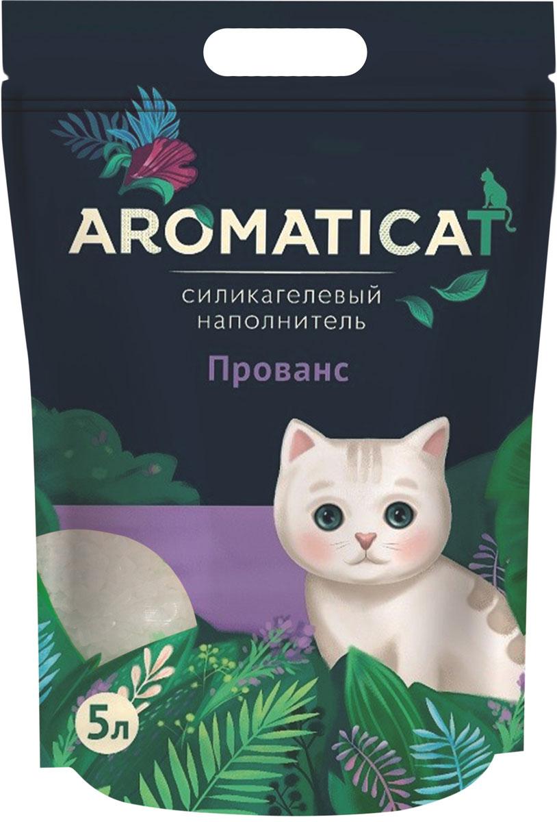 Aromaticat прованс наполнитель силикагелевый для туалета кошек (3 л)