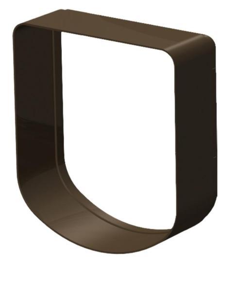 Туннель для автоматической двери Ferplast Swing 3/5, 16,3 х 5 18,4 см (коричневый)