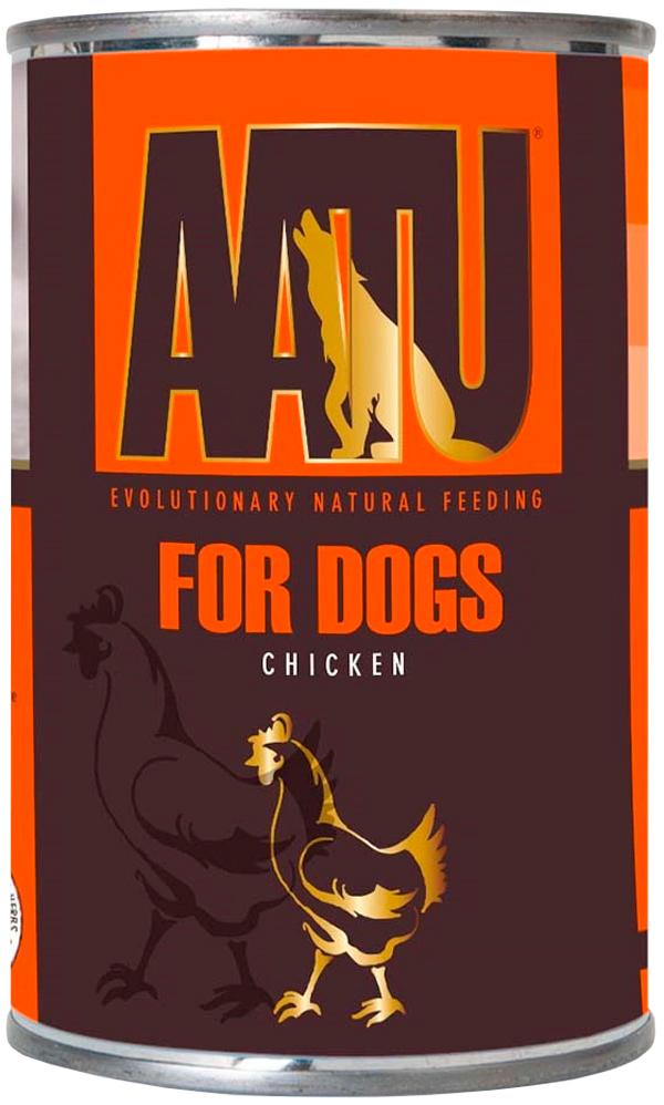 Aatu Dog Chicken беззерновые для взрослых собак с курицей 400 гр (400 гр)