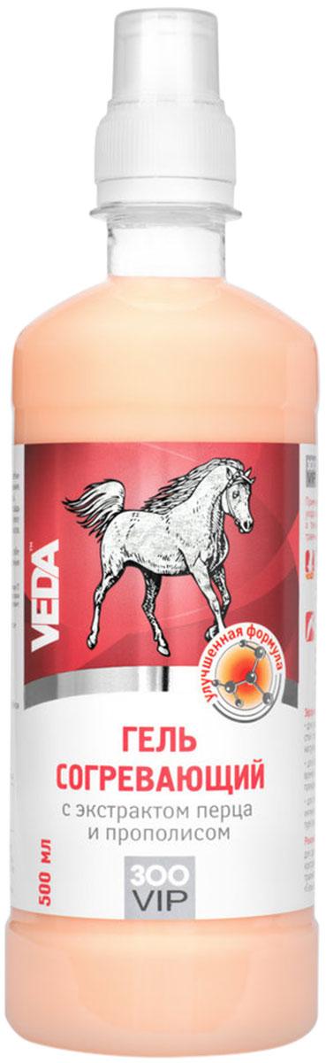 ZooVip гель для лошадей согревающий с экстрактом перца и прополиса Veda (500 мл).