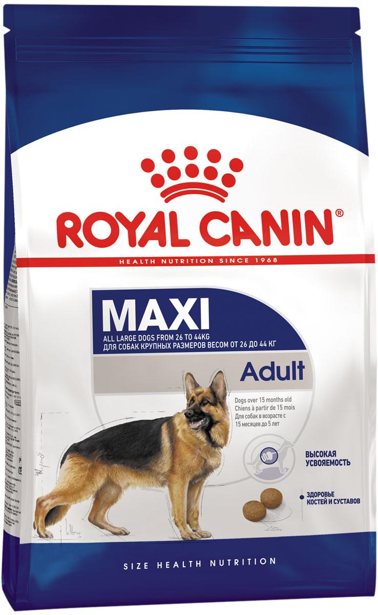 Купить со скидкой Royal Canin Maxi Adult для взрослых собак крупных пород (15 + 15 кг)