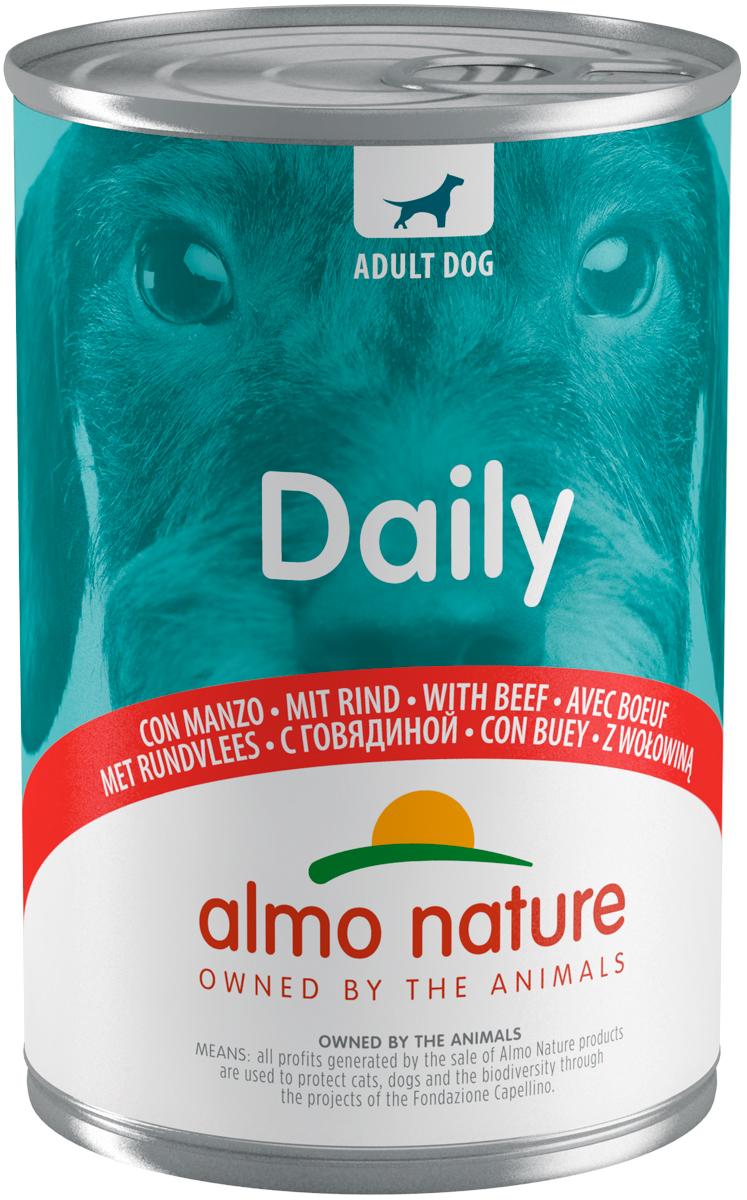 Almo Nature Dog Daily Menu для взрослых собак с говядиной 400 гр (400 гр)