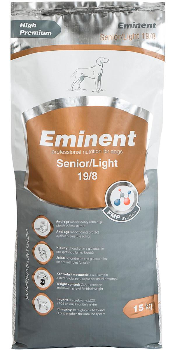 Eminent Senior/light 19/8 диетический для взрослых собак и пожилых собак старше 7 лет (3 кг)