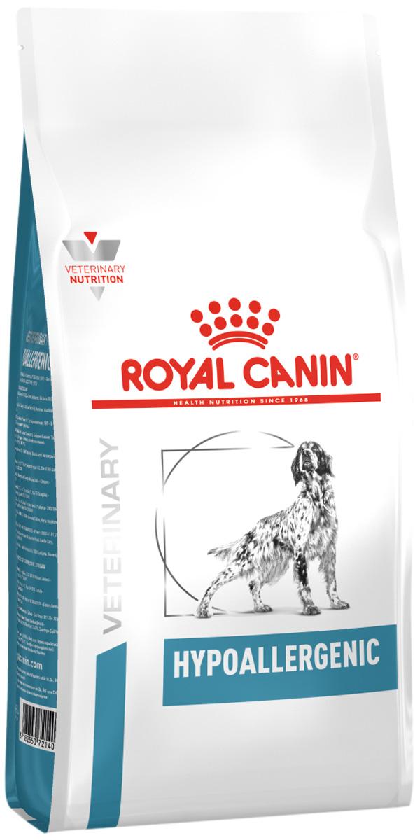 Royal Canin Hypoallergenic для взрослых собак при пищевой аллергии (7 кг)