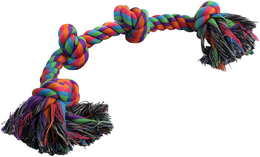 Игрушка для собак Triol Веревка 4 узла 63 см (1 шт)
