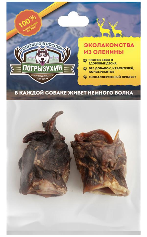 Лакомство Погрызухин для собак калтык северного оленя (1 уп)