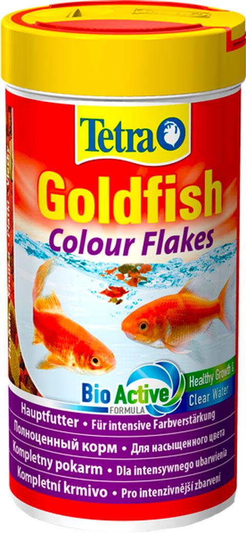Tetra Goldfish Colour — Тетра корм хлопья