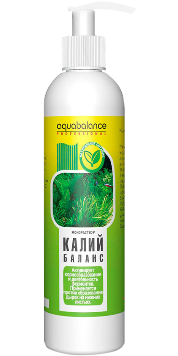 Кондиционер для лечения заболеваний водных растений Aquabalance калий-баланс (250 мл) фото
