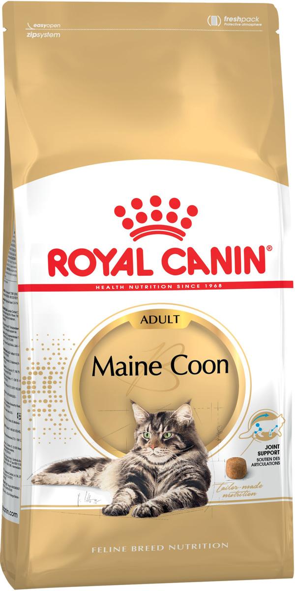 Royal Canin Maine Coon Adult для взрослых кошек мэйн кун (2 кг)