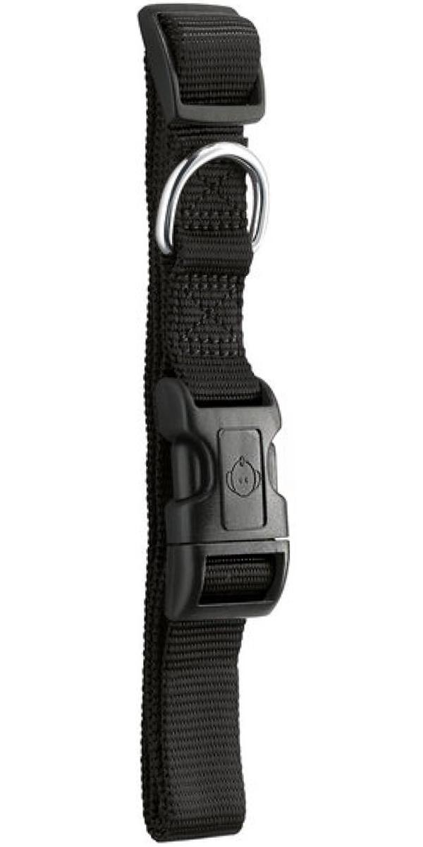 Ошейник для собак Hunter Smart Ecco L нейлон черный 25 мм 41 – 63 см  (1 шт).