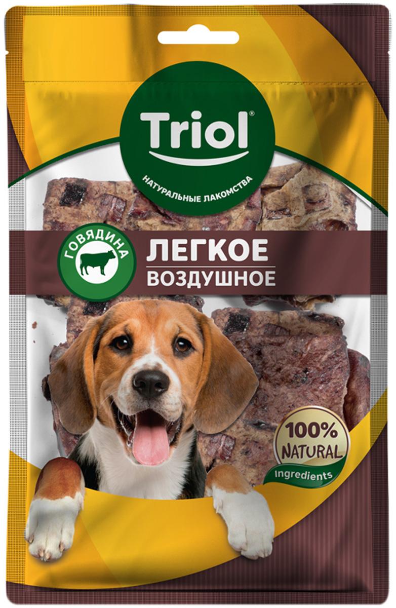 Лакомство Triol для собак легкое говяжье воздушное 40 гр (1 шт)