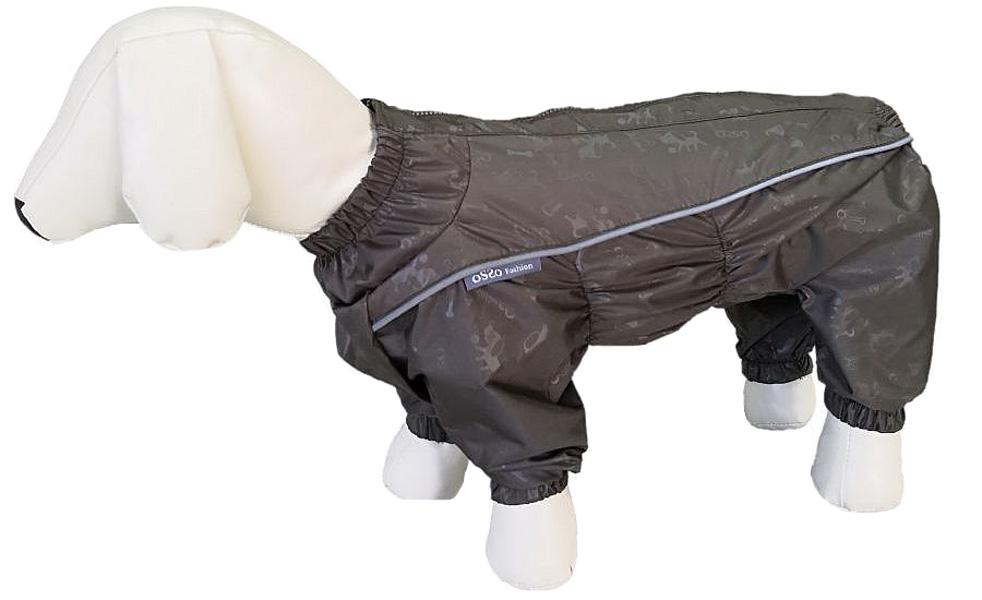 Osso Fashion дождевик для собак маленьких пород хаки для мальчиков (32-2)