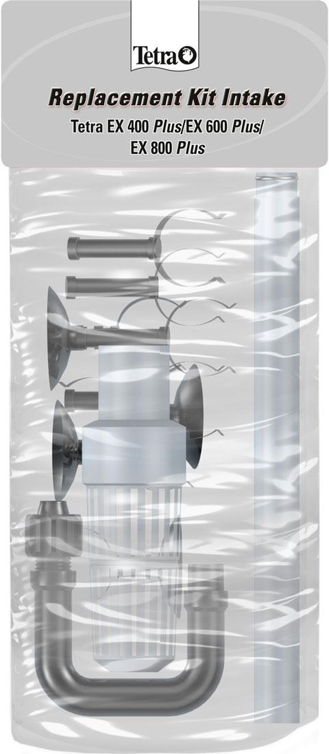 Набор трубок и зажимов для впуска воды для внешних фильтров Tetratec ех 600/700/800 (1 шт) набор резиновых уплотнителей для внешних фильтров ferplast bluextreme 700 1100 1 шт