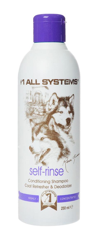 #1 All Systems Self-rinse Conditioning шампунь концентрированный для собак и кошек без смывания (250 мл)