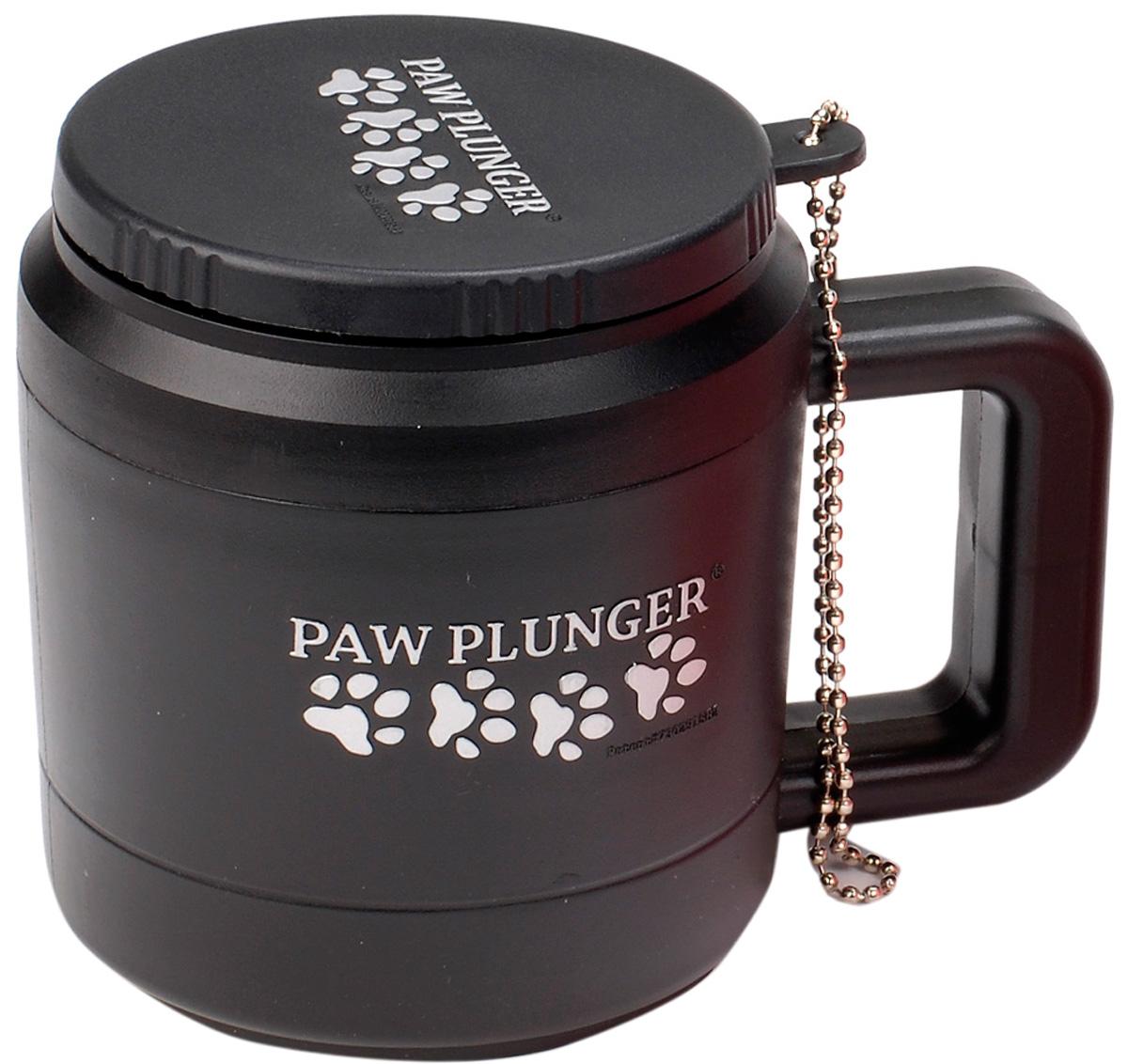 Лапомойка малая черная Paw Plunger (1 шт)