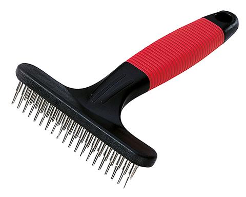 Ferplast расческа Gro 5874 с вращающимися зубцами, двухрядная (1 шт)