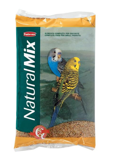 Padovan Naturalmix Cocorite — Падован корм для волнистых попугаев (1 кг) фото