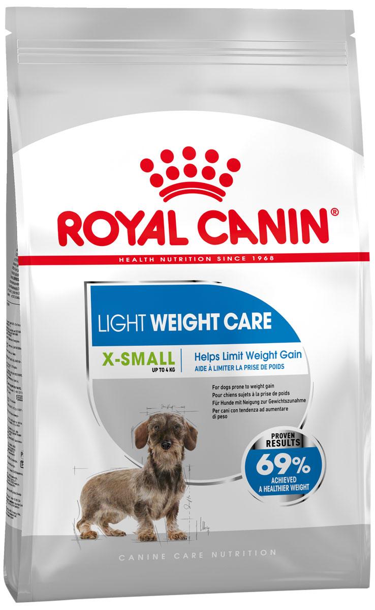 Royal Canin X-small Light Weight Care диетический для взрослых собак маленьких пород (1,5 кг)