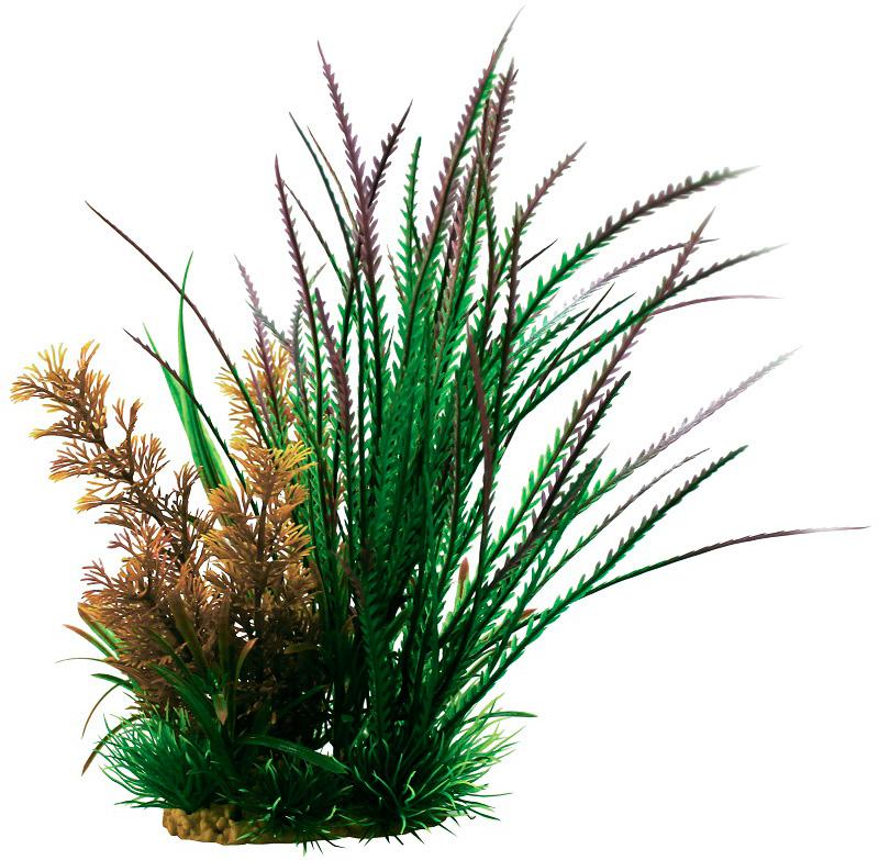 Композиция из пластиковых растений для аквариума Prime Pr-60212 20 см (1 шт) 0 pr на 100